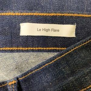 Frame Denim Jeans - FRAME Le High Flare Denim Jeans